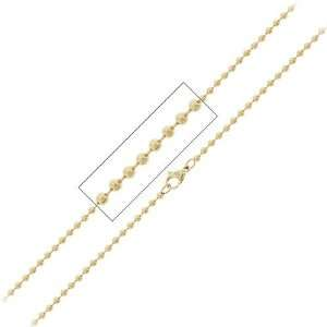 Jewelry Bead Chain Gold pvd 316L Stainless Steel Necklace Jewelry
