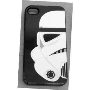 Star Wars STORM TROOPER Apple Iphone 4 4s BLACK Case