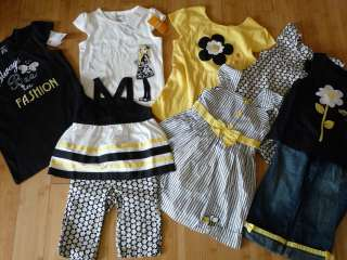 Gymboree Bee Chic Daisy Girl Spring Top Shirt Jeans Pants Dress 2 2T 3