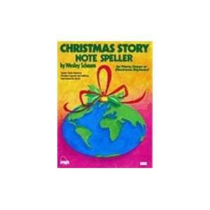 Christmas Story Note Speller, Level 1 Book Sports