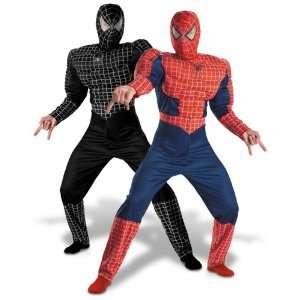 Spiderman 3   Reversible Deluxe SpiderMan Costume (Boy