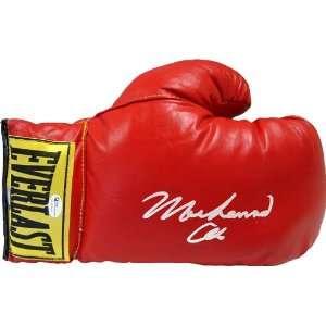Muhammad Ali Autographed / Signed Everlast Boxing Glove (OAI, Steiner)