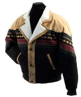 Dakota Leather Co. ® Navajo Style Suede Leather Jacket New (S M 3XL