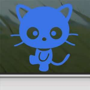 Chococat Blue Decal Sanrio Hello Kitty Window Blue Sticker