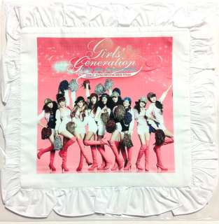 SNSD Girls Generation Cushion Pillow Cover Handkerchief