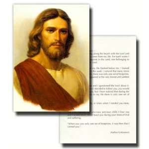 LDS Greeting Cards, Gary Kapp, Head of Christ Picture with