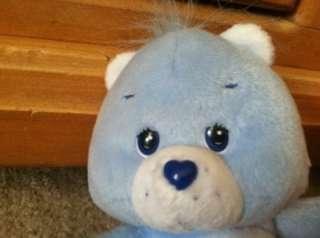 2002 Care Bear 7 Set Plush GRUMPY & CHEER Bear