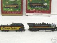 HALLMARK LIONEL CHESSIE STEAM ENGINE & TENDER ORNAMENT