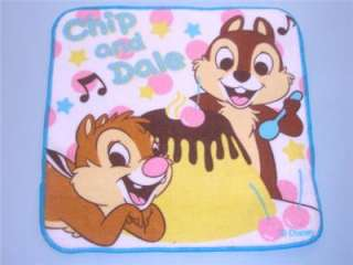Petit/mini TOWEL OSHIBORI DISNEY CHIP & DALE design (B)