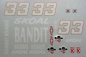 33 Harry Gant 1986 Skoal Bandit Chevy Monte Carlo