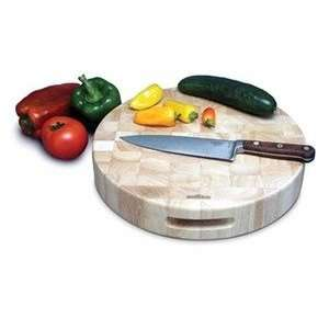 Extra Thick Round Cutting Board: Kitchen & Dining
