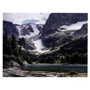 Mountain Lake by Clyde Aspevig 17x13: Sports & Outdoors