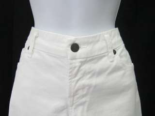 CITIZENS OF HUMANITY White Cropped Jeans Pants Sz 30