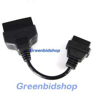22 Pin To 16 Pin OBD II OBD2 Diagnostic Adapter Cable OBD013