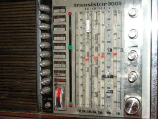 Grundig Short Wave Radio Portable Transistor 3005 Solid State