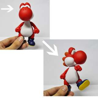 New Super Mario 5 YOSHI red Figure Toy