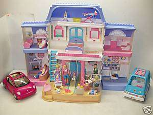 FISHER PRICE LOVING FAMILY DOLLHOUSE LOADED & PEOPLE