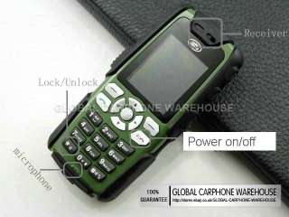 LAND ROVER MILITARY Water Dust Proof Defender Mobile CELL PHONE