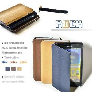 Rock Premium PU Leather Side Flip Cover Case for Samsung