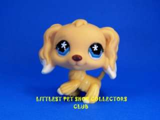 Littlest Pet Shop COCKER SPANIEL Dog #748 VERY RARE Retired Brand New