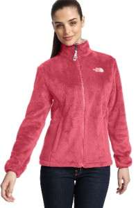 NWT NORTH FACE Womens OSITO Fleece Jacket   Pearl Pink   Brunette