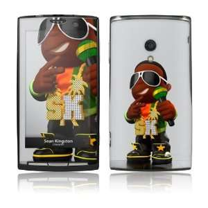 Xperia X10  Sean Kingston  Character Skin: Cell Phones & Accessories
