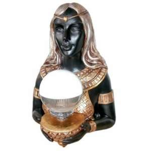 Grand Goddess Hathor Egyptian Statue Wall Lamp Home & Kitchen