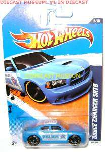DODGE CHARGER SRT8 POLICE HOT WHEELS DIECAST 2011