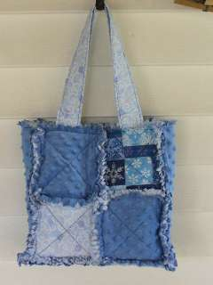 Patch Rag Quilt Purse Tote Tutorial INSTRUCTIONS RQQ™
