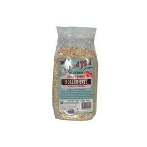 Bobs Red Mill Mill, Organic Quick Cooking Rolled Oats, Whole Grain