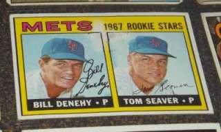 1967 Topps Complete Set Mickey Mantle #150, Tom Seaver #581, Rod Carew