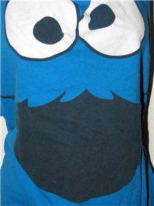 backless t shirt couture DIY tank top SESAME STREET ST COOKIE MONSTER
