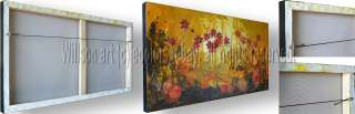 MODERN FLORAL OIL PAINTING DAISY DAISIES CONTEMPORARY ART
