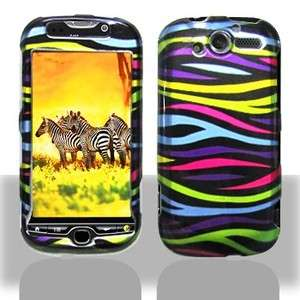 Colorful Zebra Hard Case Cover for T Mobile myTouch 4G