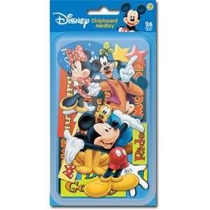 Disney Mickey Mouse & Friends Chipboard Medley 3 D Die Cut