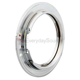 Nikon F Mount Lens To Canon EOS EF Adapter For 7D 550D 60D 5D II 1100D