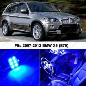 BMW X5 ULTRA BLUE LED Lights Interior Package Kit M E70