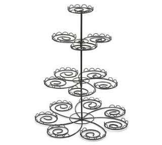 Cupcake Stand Tree Black Metal Birthday Party Bridal Baby Shower Holds