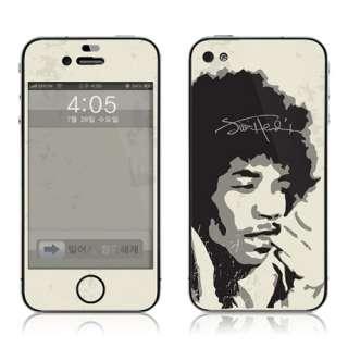 apple iphone 4 skin 3m vinyl sticker jimi hendrix anti scratch