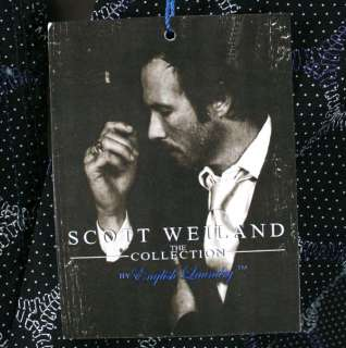 ENGLISH LAUNDRY Scott Weiland mens CA Highway black shirt embroidered