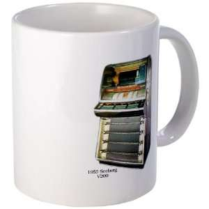 1955 Seeburg V200 Jukebox Hobbies Mug by