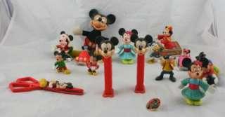 Vintage Disney Collectibles Mickey Mouse Minnie Goofy Pez Scissors Toy