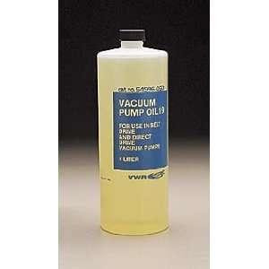 VWR Vacuum Pump Oil No. 19   Size 4   Model 54996 082   Case of 4