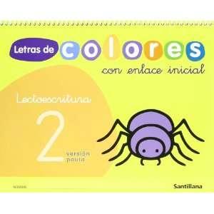 LETRAS DE COLORES 2 CON ENLACE INICIAL CUAD LECTOESCRITURA