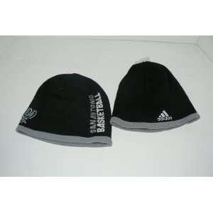 adidas San Antonio Spurs Black Official Team Knit Beanie