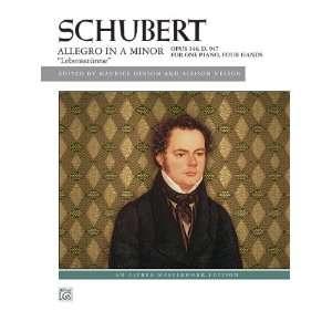 9780739085929) Franz Schubert, Maurice Hinson, Allison Nelson Books