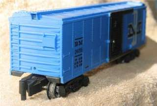 Vintage S Scale American Flyer B & M Box Car # 24056 With Two Hand