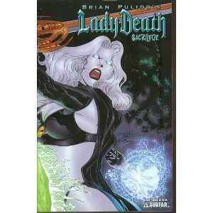 Lady Death Sacrilege #2 (Wrap Cover): Brian Pulido: Books