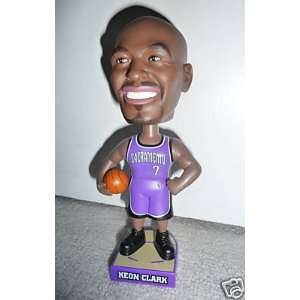 Sacramento Kings Carls Jr Bobble Head Doll Bobblehead: Toys & Games