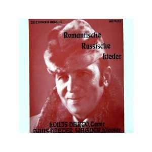 Romantische Russische Lieder [Vinyl] Klavier Louis Danto
